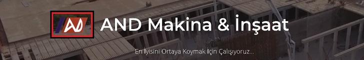 AND Makina & İnşaat , Suluova , Amasya Organize Sanayi Bölgesi