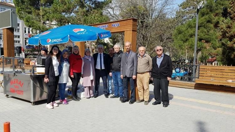 İyi Parti Vezirköprü Lokma İkramı - Çanakkale Şehitleri ve 3 Aylar anısına