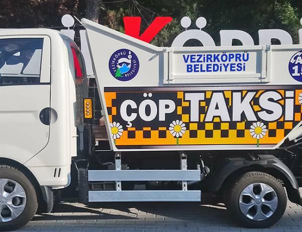 Vezirköprü Belediyesi Çöp Taksi Adedini İkiye Çıkarttı