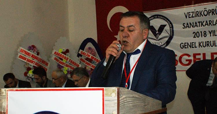 Esnaf ve Sanatkarlar Odası Başkanlık Seçimini Orhan Şahin Kazandı
