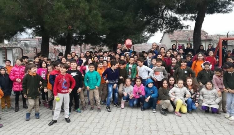 """Mehmet Paşa İlkokulu """"KUŞ EVİ"""" çalışmasını hayata geçirdi."""