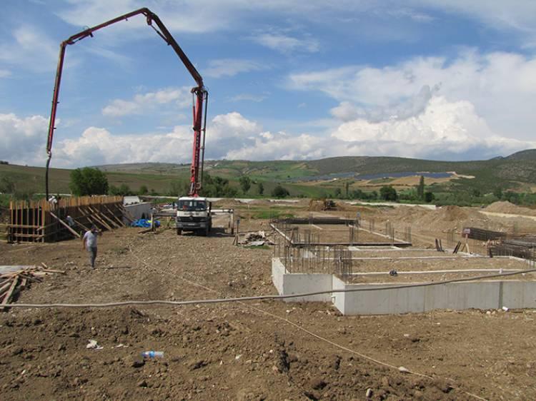 Vezirköprü Atık Su Arıtma Tesisi İnşaatı Başladı