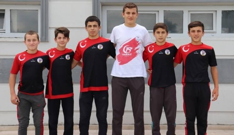 6 Sporcumuz Sporcu Kamp Eğitim Merkezini Kazandı