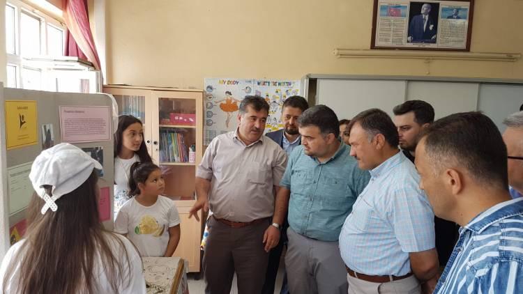 Yukarınarlı Ortaokulu'nda 4. Tübitak Bilim Fuarı Gerçekleştirildi
