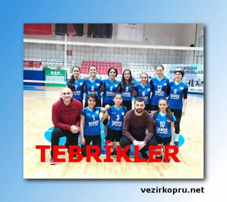 Vezirköprü Anadolu Lisesi Bölge Şampiyonu Oldu